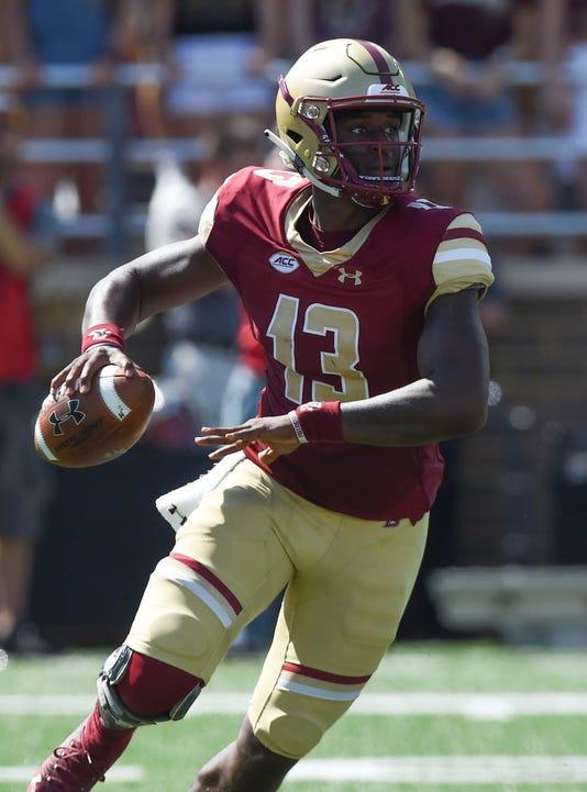 Ncaa Football Massachusetts At Boston College