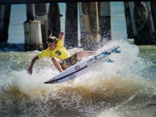 William Hedleston of Cocoa Beach is entered as a wild card in the Ron Jon Quiksilver Pro.