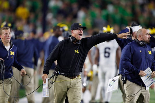 Jim Harbaugh Angry
