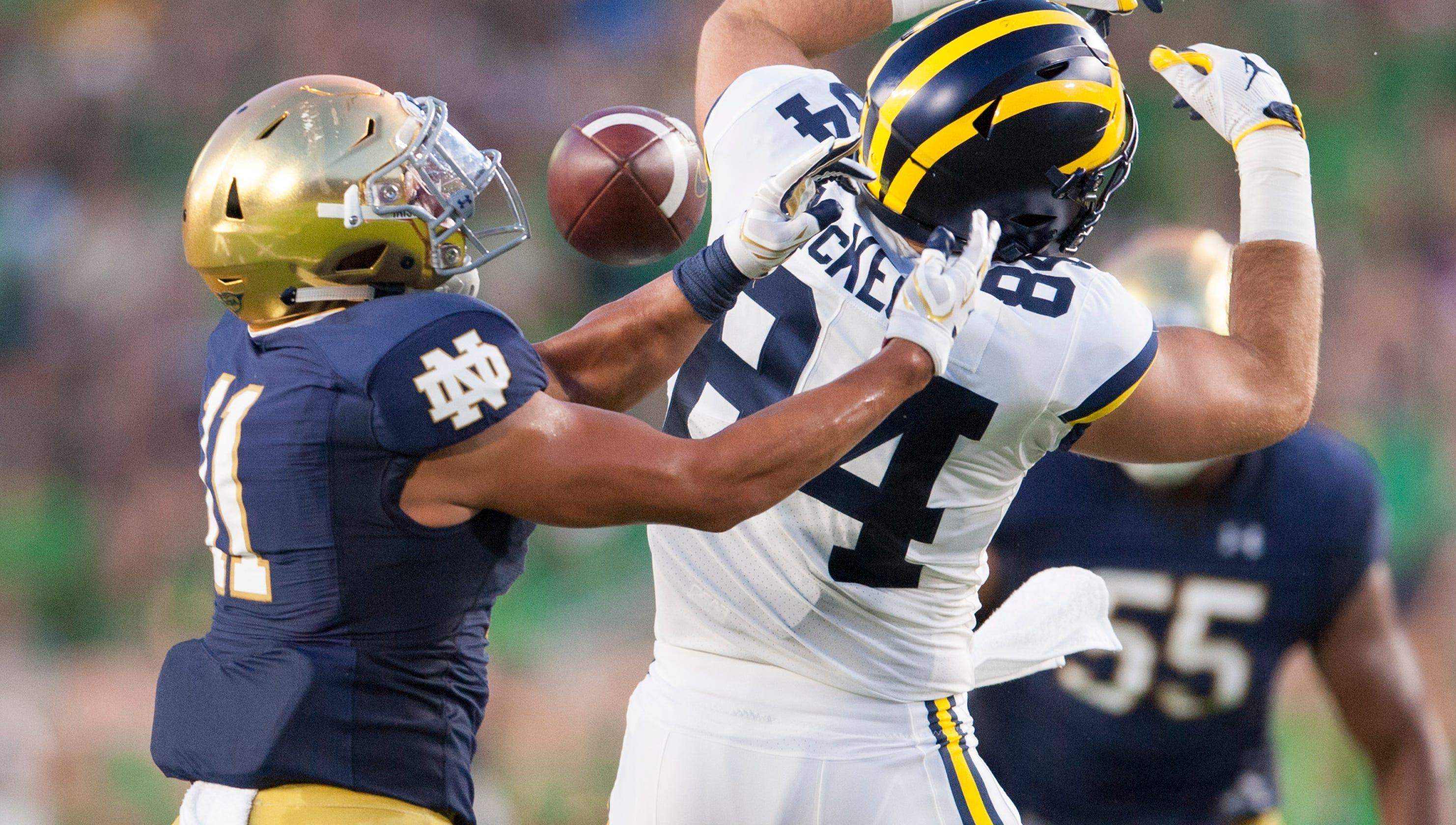 57e7c89b0 Live updates  Michigan Wolverines vs. Notre Dame Fighting Irish