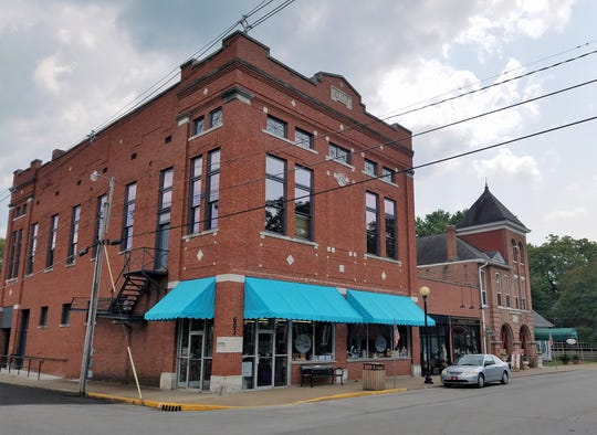 Capers Emporium kitchen and gift store is located in a 100+ year old building in New Harmony.