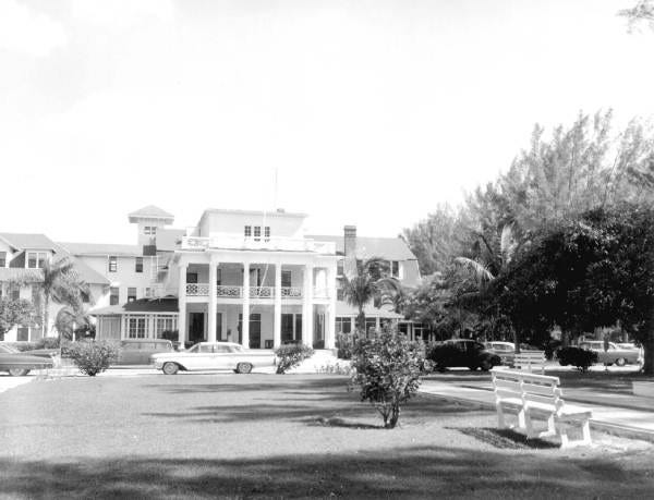 "The Gasparilla Inn on Boca Grande was the site of the Cape Coral ""feathers caper"" in the early 1960s."