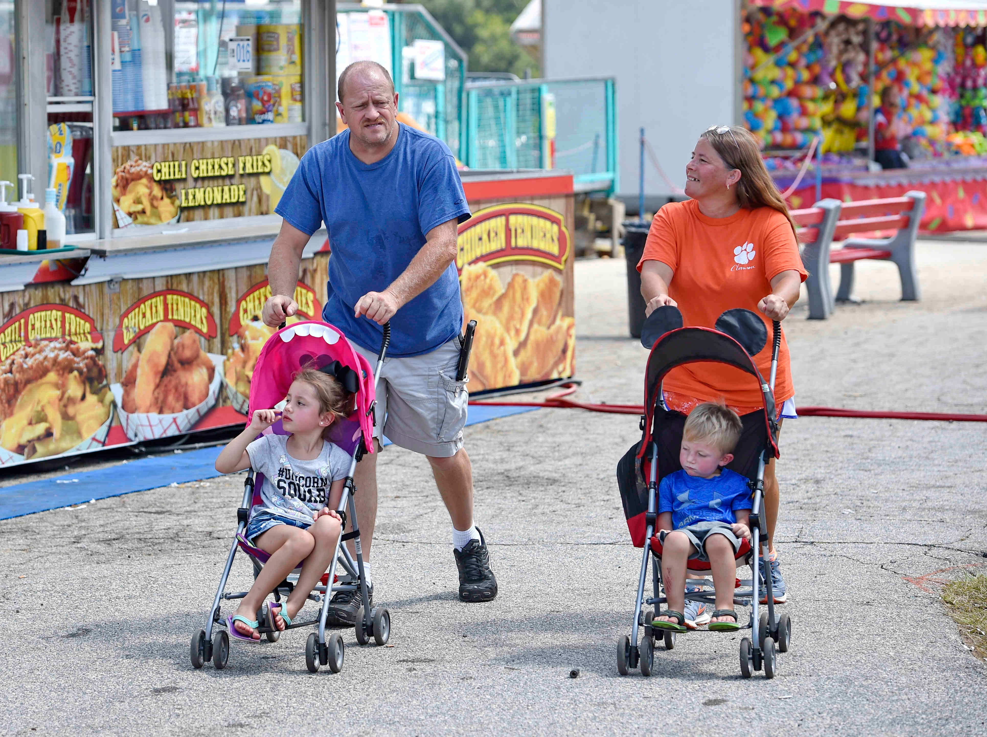 The annual Upper South Carolina State Fair is back in town through Sept. 9 at the Greenville-Pickens Speedway.