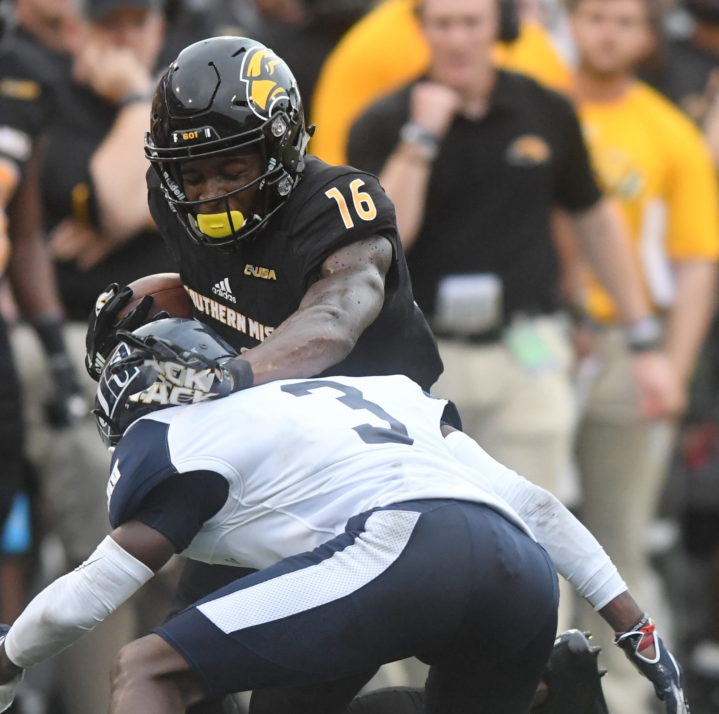 Rosters, depth charts for Southern Miss' Week 2 game against UL-Monroe Saturday