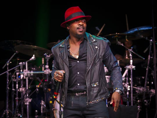 Anthony Hamilton sang at Bankers Life Fieldhouse in 2014 as part of Indiana Black Expo Summer Celebration.