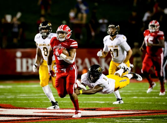 In The Football Game Between UL And Grambling State University At Cajun Field In Lafayette Louisiana On September 01 2018