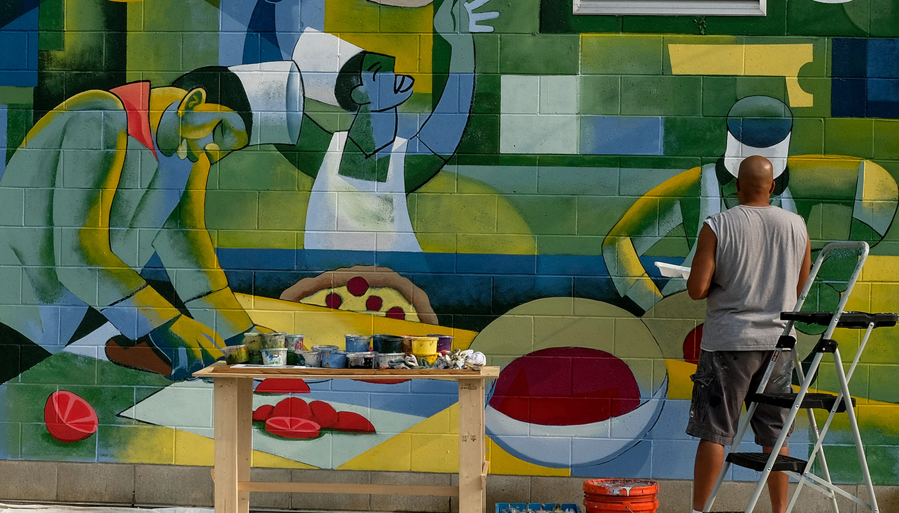 The Stories And Artists Behind Lansings Murals