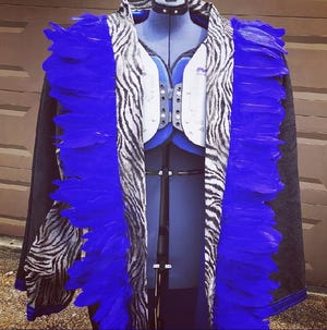 """Memphis unveiled the """"turnover robe"""" during Saturday's 66-14 win over Mercer."""