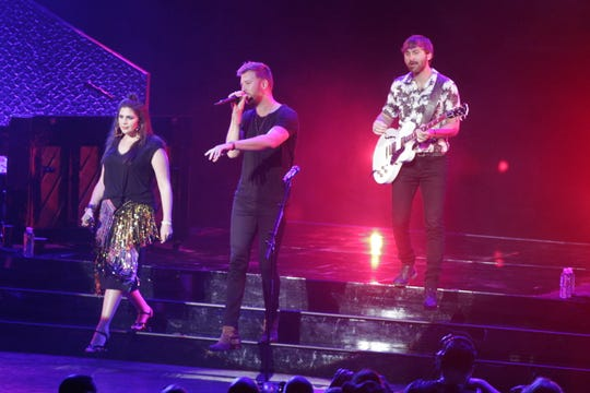 Lady Antebellum performs Aug. 10 during Ashley for the Arts in Arcadia.