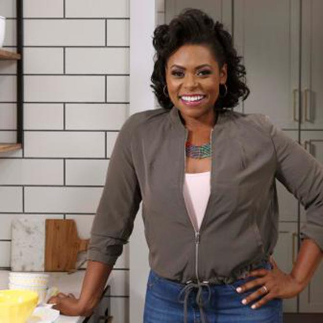 "Jamika Pessoa of Montgomery is one of the hosts of the new Food Network show ""Let's Eat."""