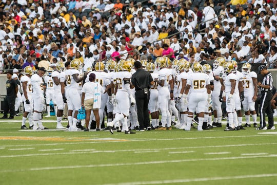 Alabama State host Tuskegge University Saturday September 1, 2018 at the New Hornet Stadium