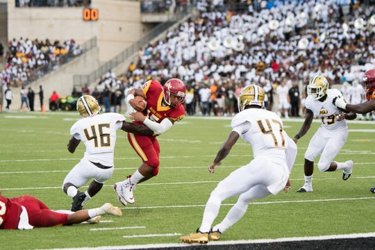 Alabama State host Tuskegge University Saturday September 1, 2018 at the New Hornet Stadium