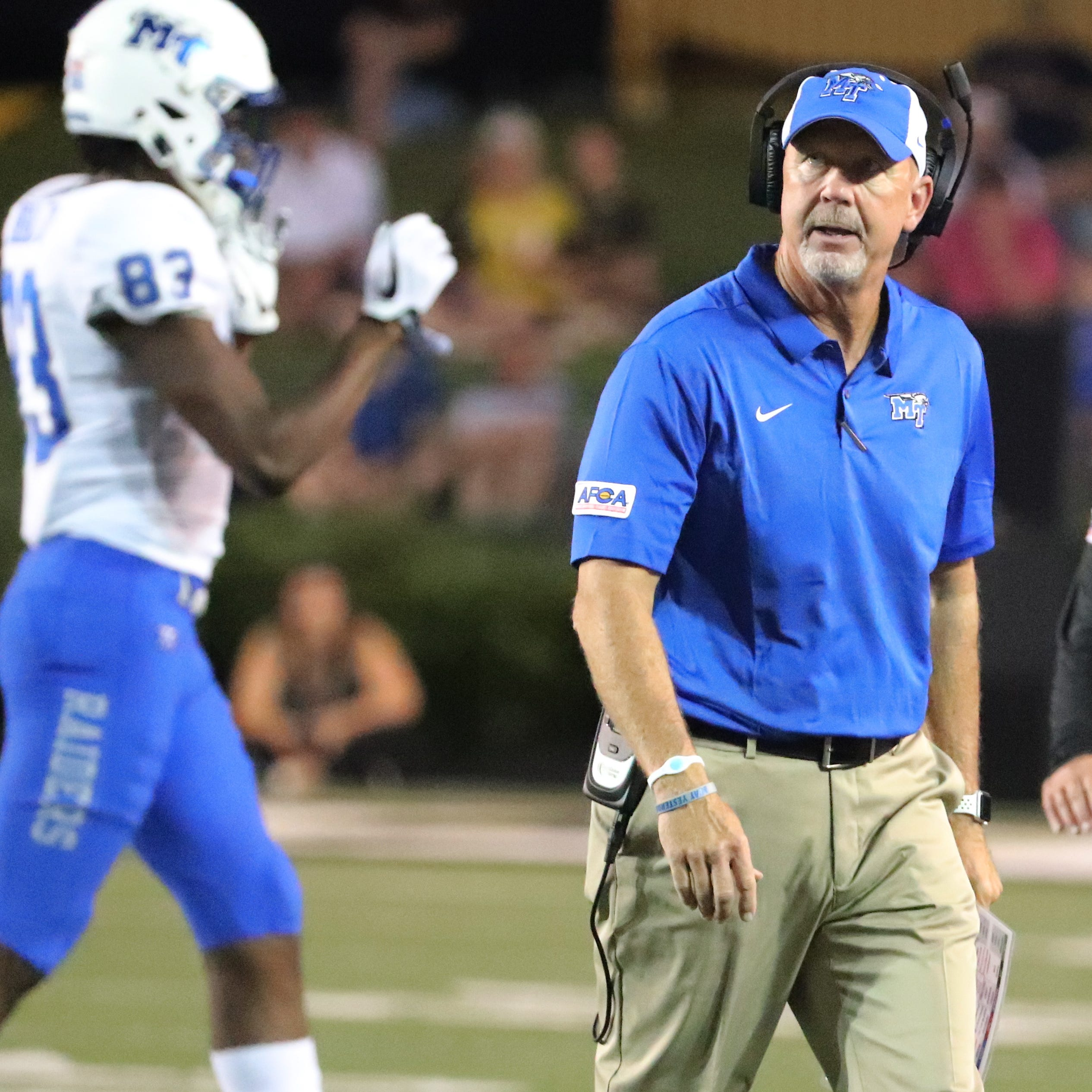 Up next: MTSU hosts UT Martin in home opener after Vanderbilt defeat
