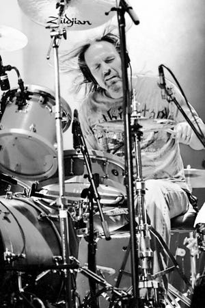 Drummer Mike Kennedy