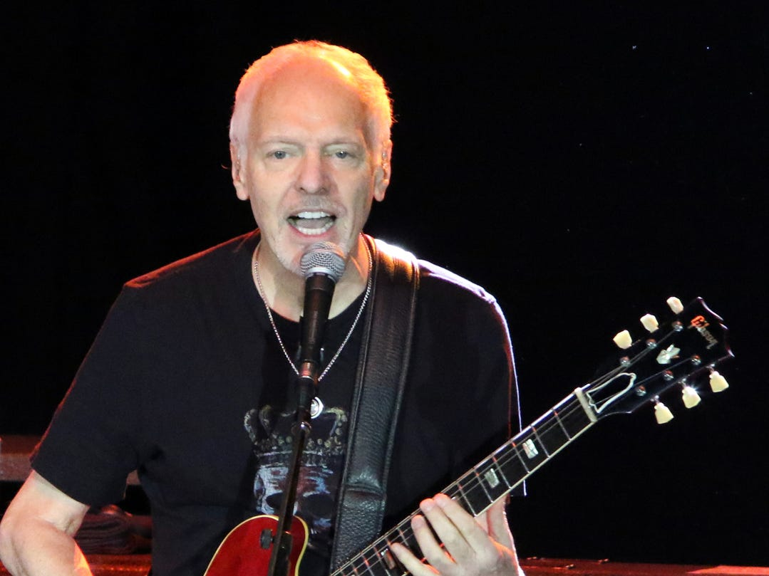 Peter Frampton performs inside the Special Events Center at Fantasy Springs Resort Casino in Indio on Friday, August 31, 2018.