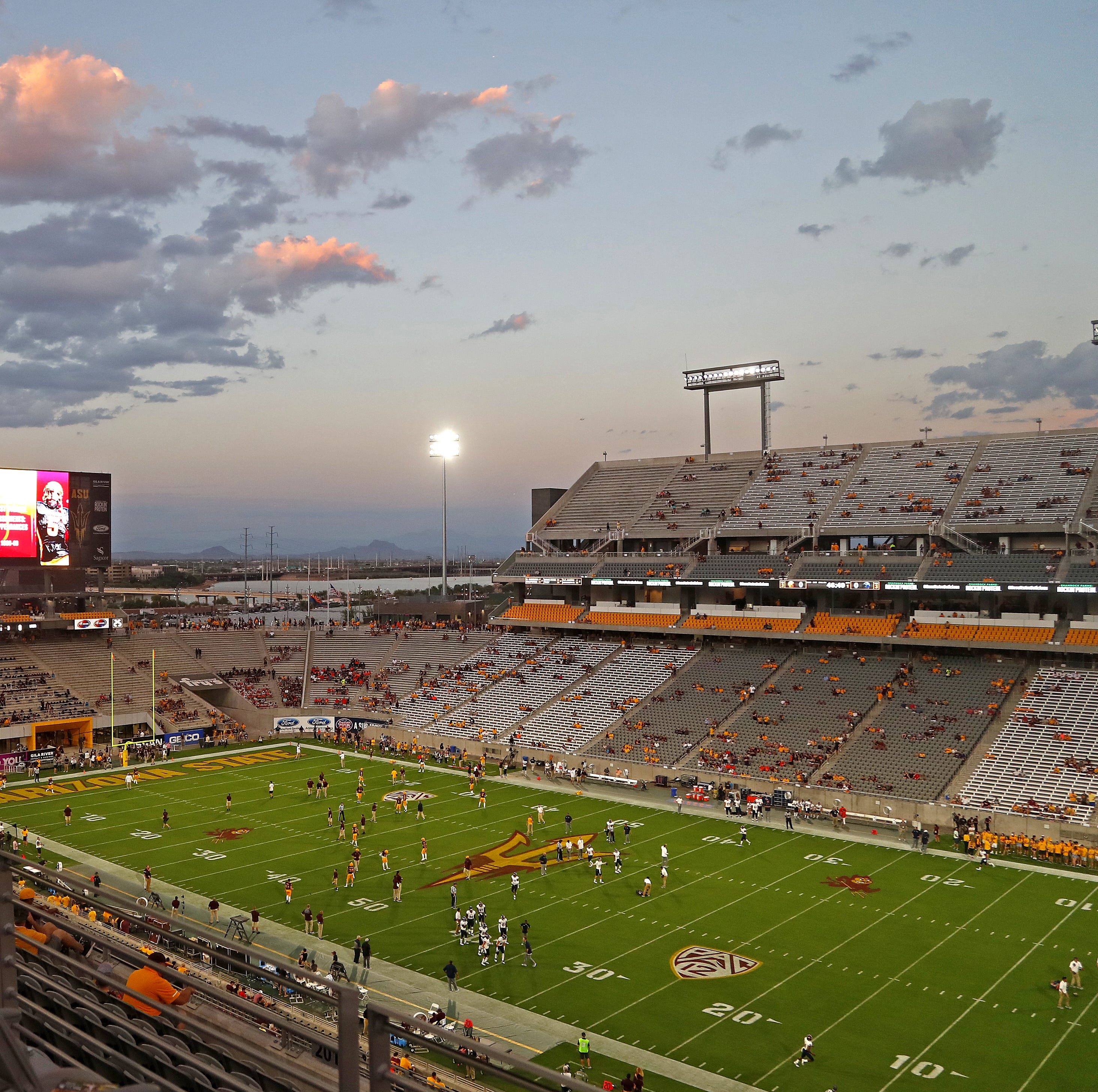 Here's how to avoid long lines at Sun Devil Stadium for Michigan State-ASU game
