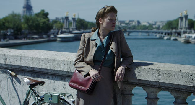 "Melanie Thierry plays real-life writer Marguerite Duras in ""Memoir of War."""
