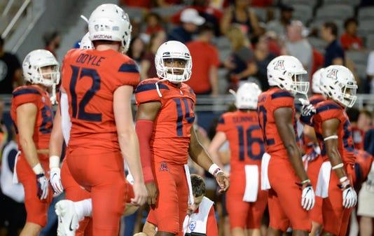 Ncaa Football Brigham Young At Arizona