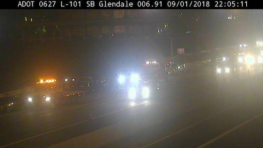 Crash Near Glendale