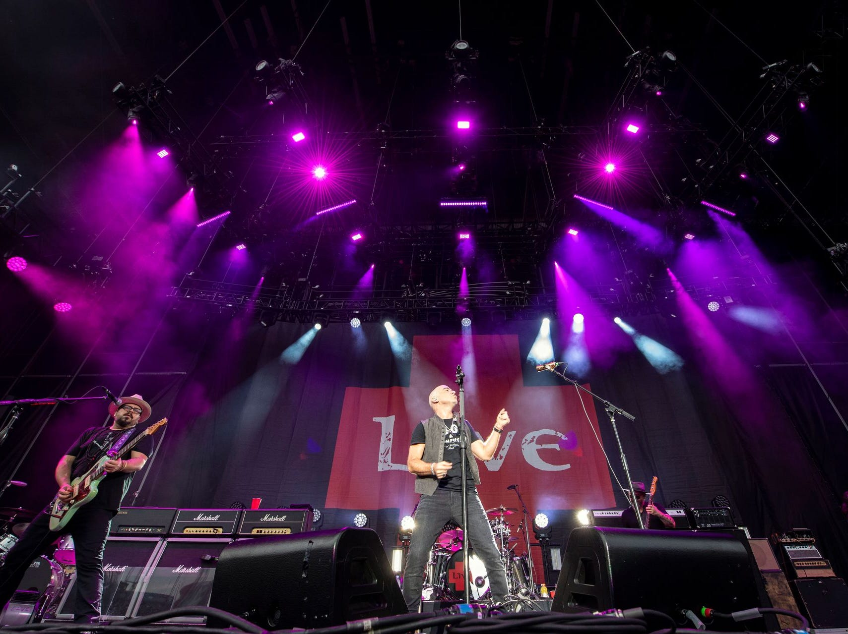 The band, with its original foursome, is back in touring around the world. Here,  they are seen in Hershey in the summer of 2018. To see the band in concert playing their most popular song, see their 2008 show in Amsterdam:  https://bit.ly/2wE7G2a.