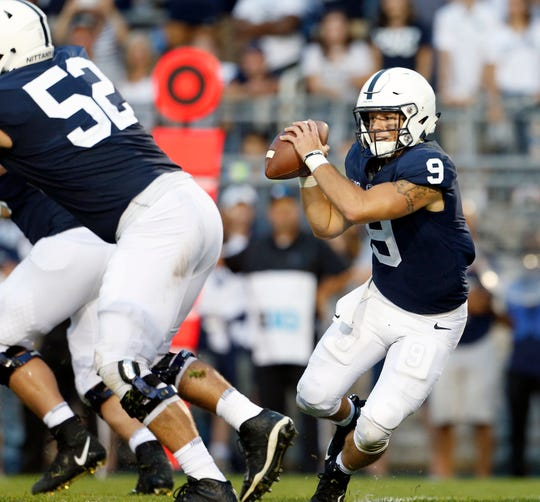 Trace McSorley led a dramatic comeback to beat Appalachian State in overtime. But it wouldn't have happened without redshirt freshman K.J. Hamler. He caught two of McSorley's most critical passes, including the saving, tying score with less than a minute left in regulation.