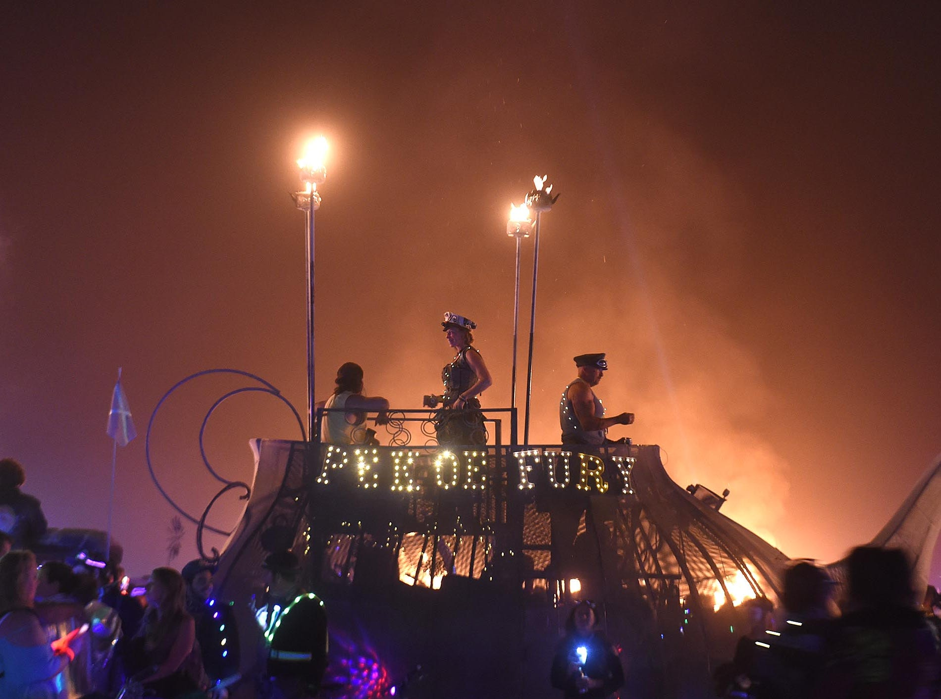 Images from Burning Man 2018.