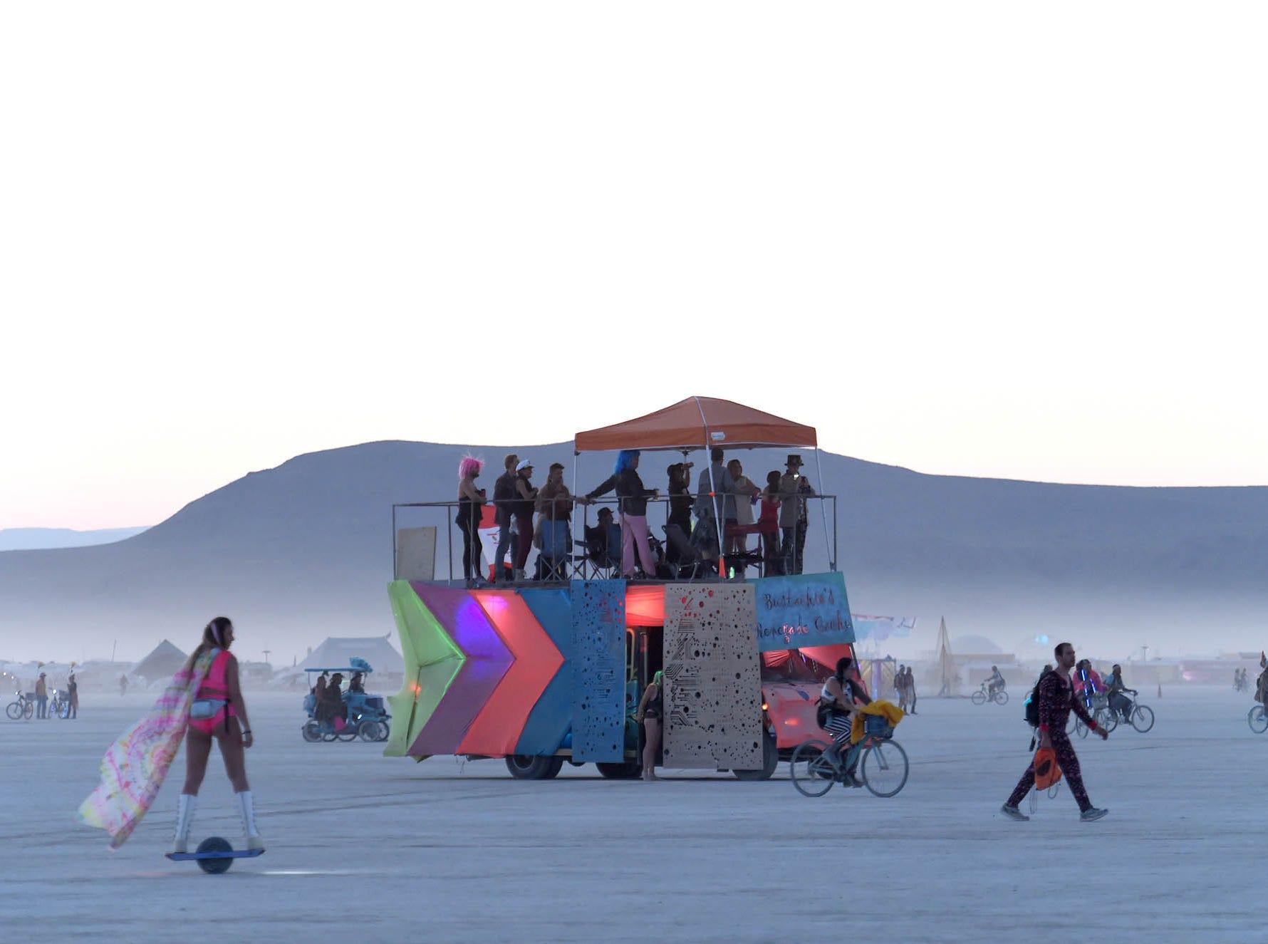 A photo from Saturday, Sept. 1, 2018 at Burning Man.