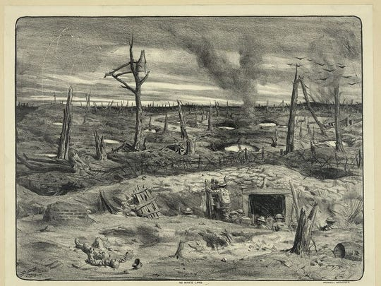 No Man's Land by Lucien Jonas, 1927, Library of Congress.
