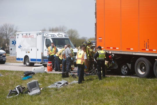 A photo from a 2017 fatal crash on Highway 60 near Rogersville.