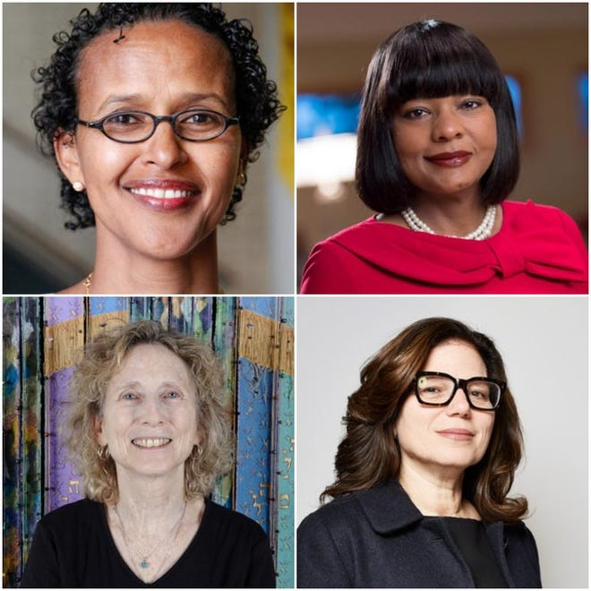 Cawo Abdi, Mary Dana Hinton, Laurie Wohl and Rabbi Marcia Zimmerman will speak at the College of St. Benedict Wednesday, Sept. 5.