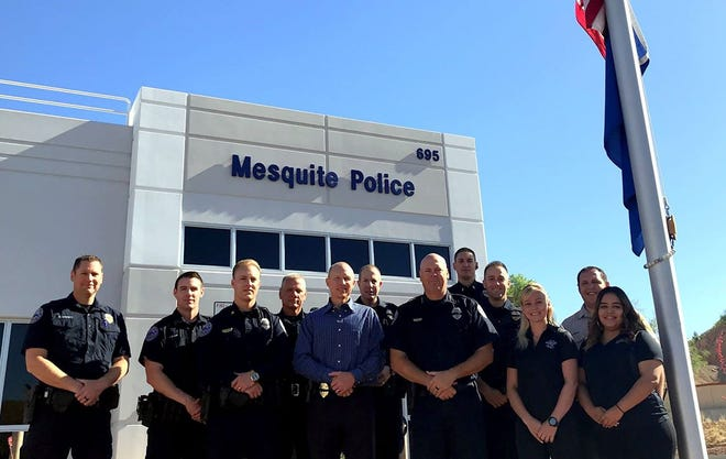 Multiple divisions comprise the Mesquite Police Department: administration, patrol, corrections, animal control, dispatch, and records.