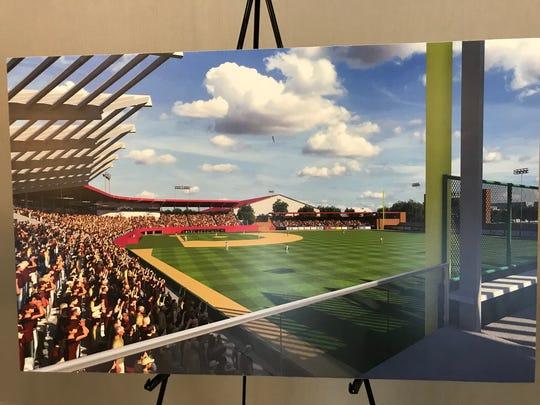 Updated Dick Howser Stadium rendering