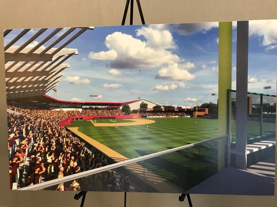 Updated Dick Howser Stadium rendering