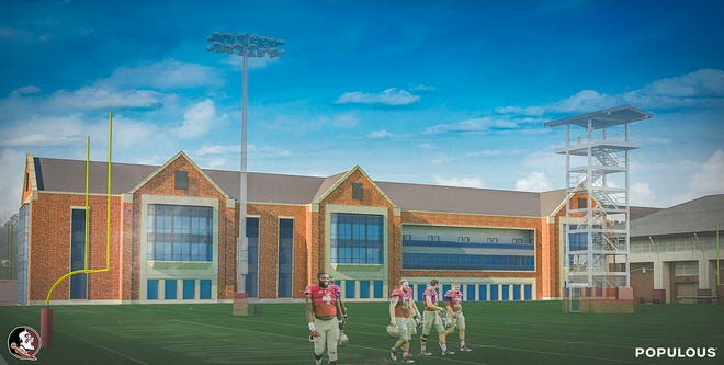 A look at FSU's $60 million stand-along football facility set to be completed by July 2021.