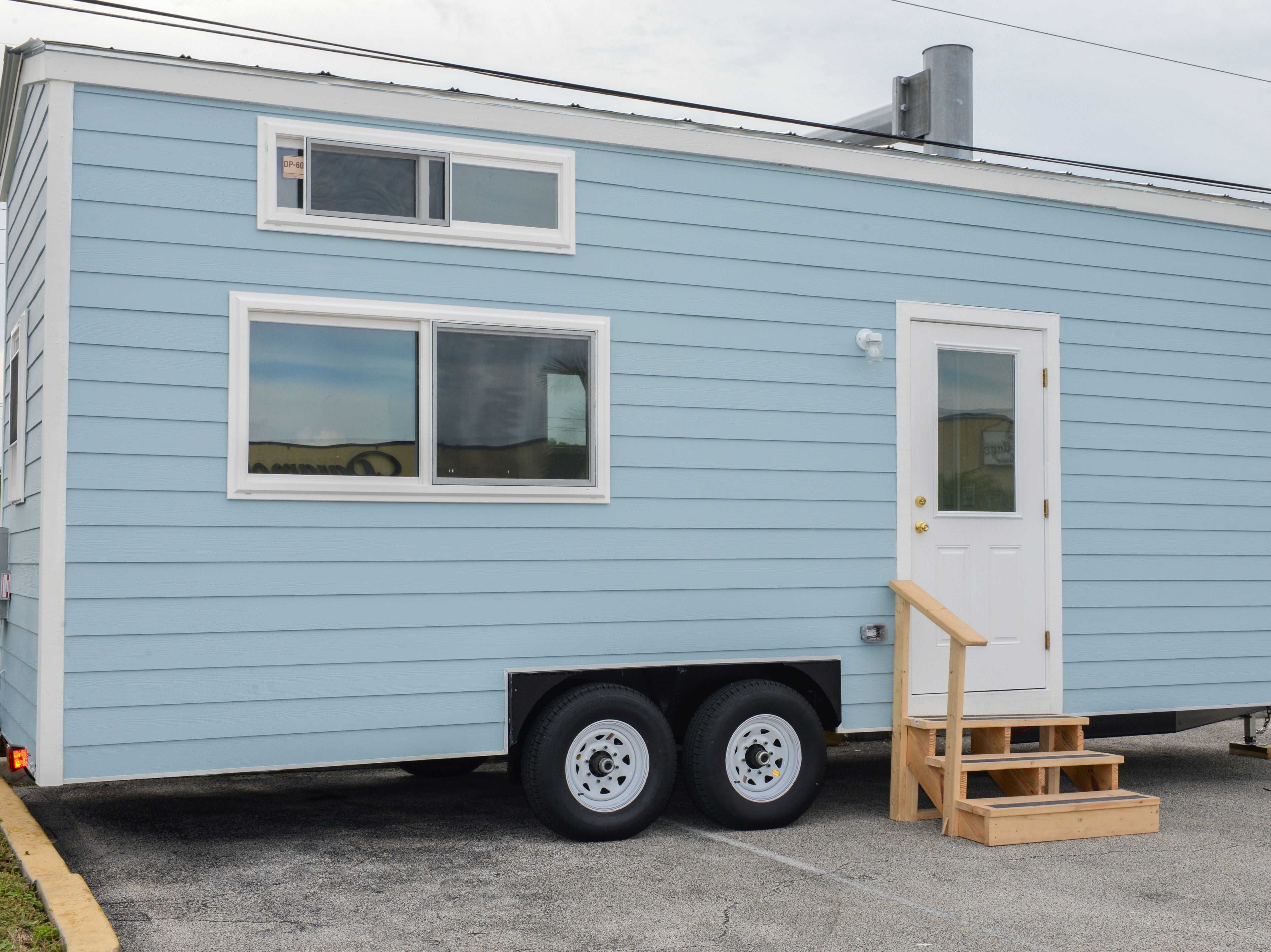 The 188-square-foot Diamond Lil' Tiny Home is being raffled off again to raise money for St. Lucie Habitat for Humanity. St. Lucie Battery & Tire bought the house for $44,000 in April as a fundraiser for Habitat.