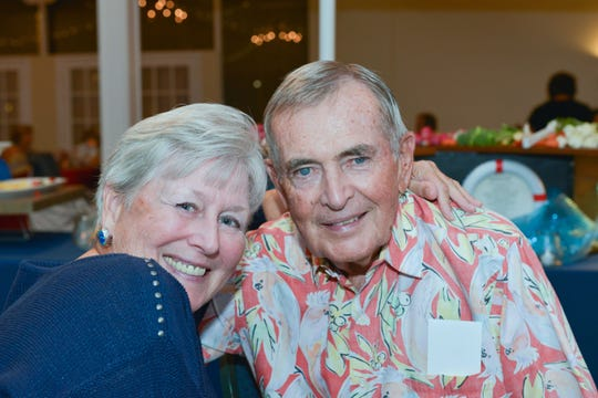Diane and Mike O'Toole attend Main Street Fort Pierce's 24th annual Reverse Raffle at the Pelican Yacht Club in Fort Pierce.
