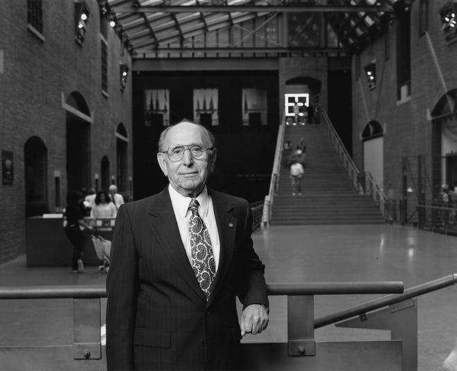 Miles Lerman at the U.S. Holocaust Memorial Museum.