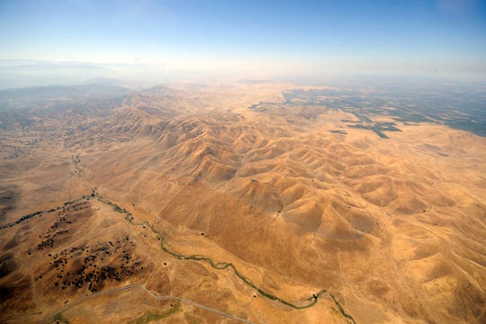 Tulare County from the sky.