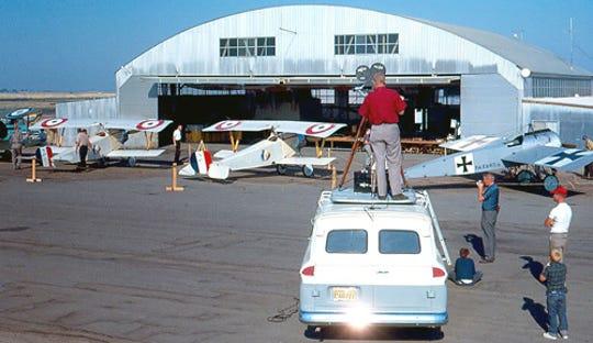 Porterville Airport in 1962