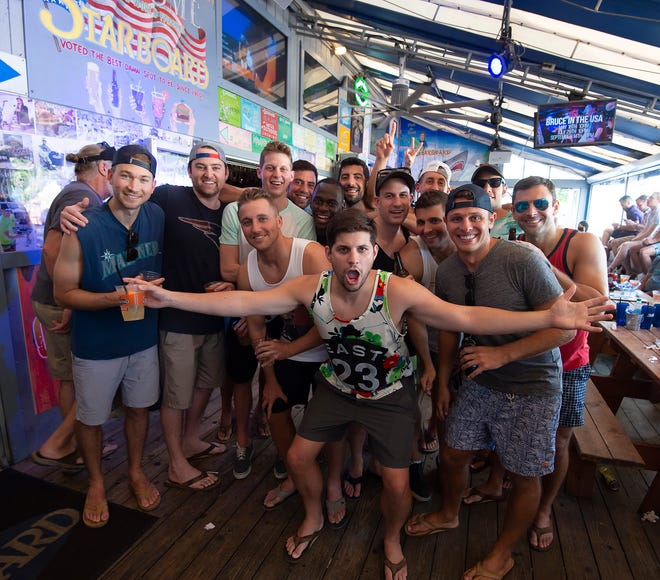 The party power of Saturday night spills into Sunday at The Starboard in Dewey Beach each weekend.