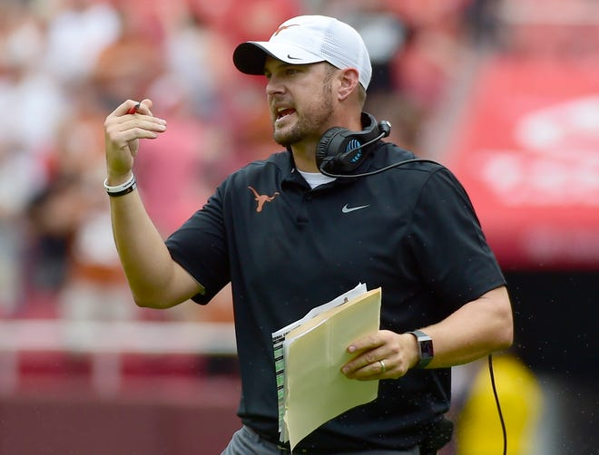 Tom Herman's second season at Texas is off to an inauspicious start.