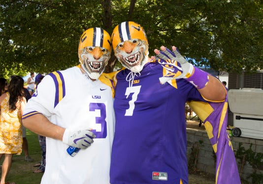Ncaa Football Miami At Louisiana State