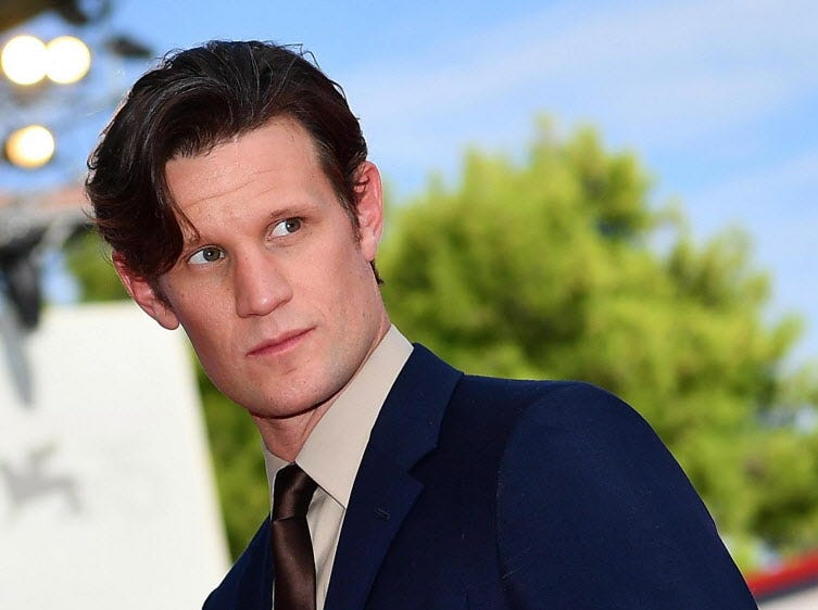 epa06992717 British actor Matt Smith arrives for the premiere of 'Charlie says' during the 75th annual Venice International Film Festival, in Venice, Italy, 02 September 2018. The movie is presented in Orizzonti section at the festival running from 29 August to 08 September.  EPA-EFE/ETTORE FERRARI