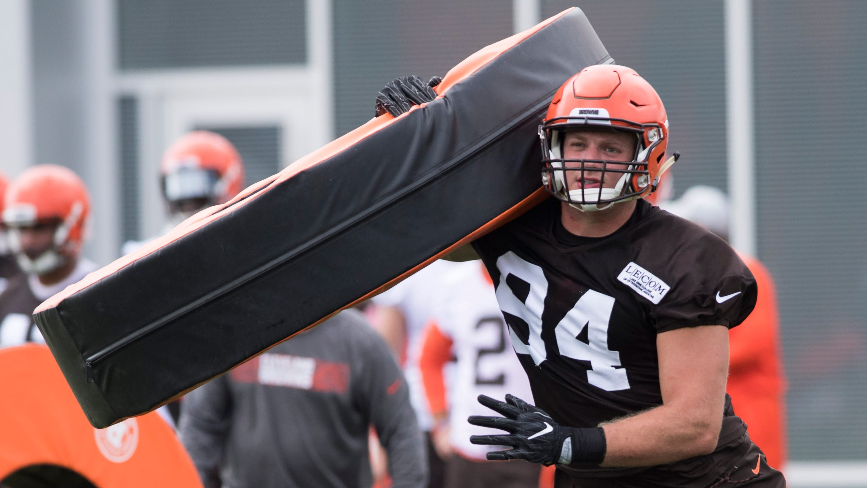 size 40 7775d 0c6fa Cleveland Browns release 'Hard Knocks' star Carl Nassib
