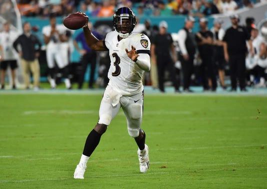 Usp Nfl Baltimore Ravens At Miami Dolphins S Fbn Mia Bal Usa Fl 5177564b4