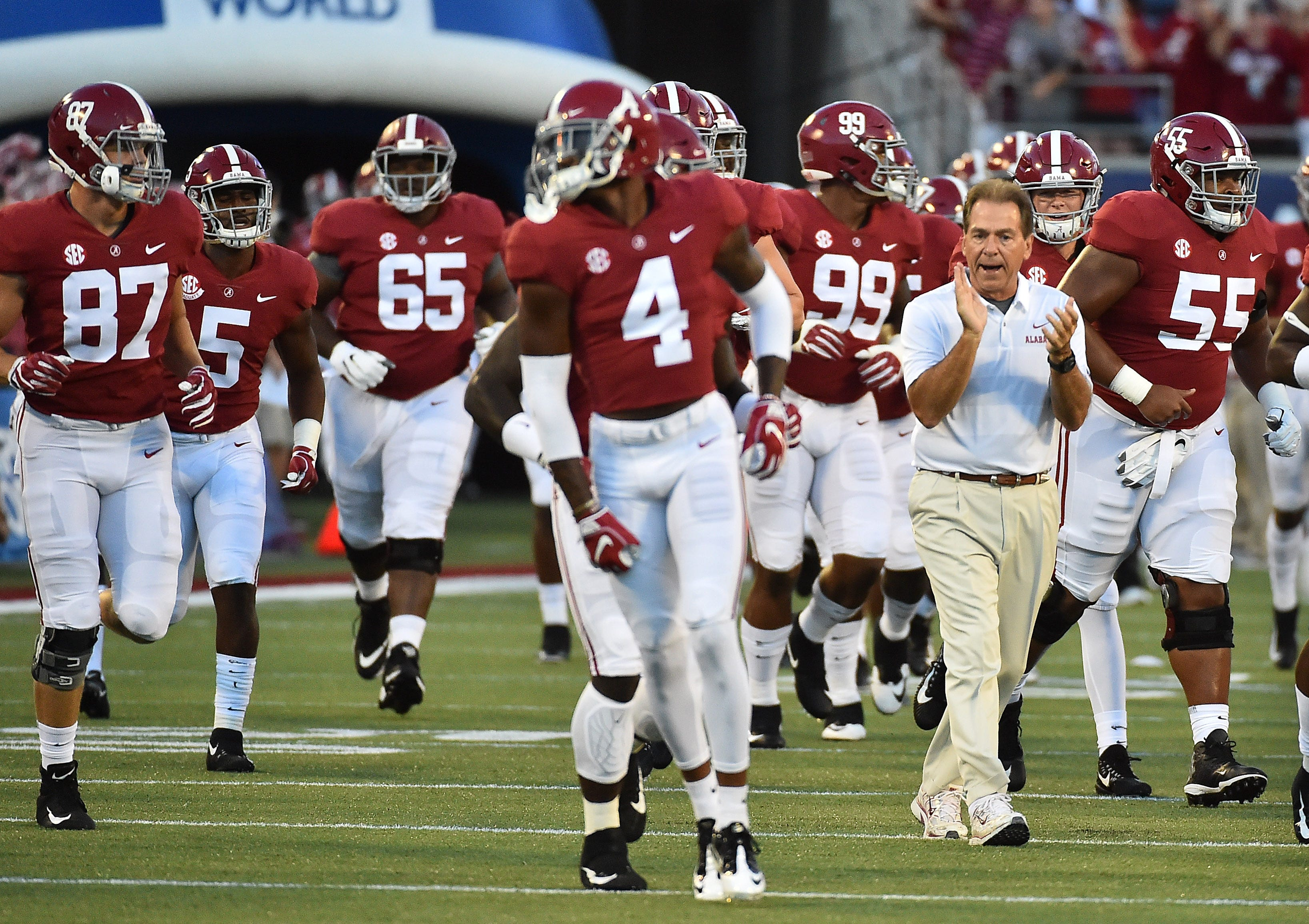 Nick Saban owes ESPN's Maria Taylor an apology, the first of likely more he will owe