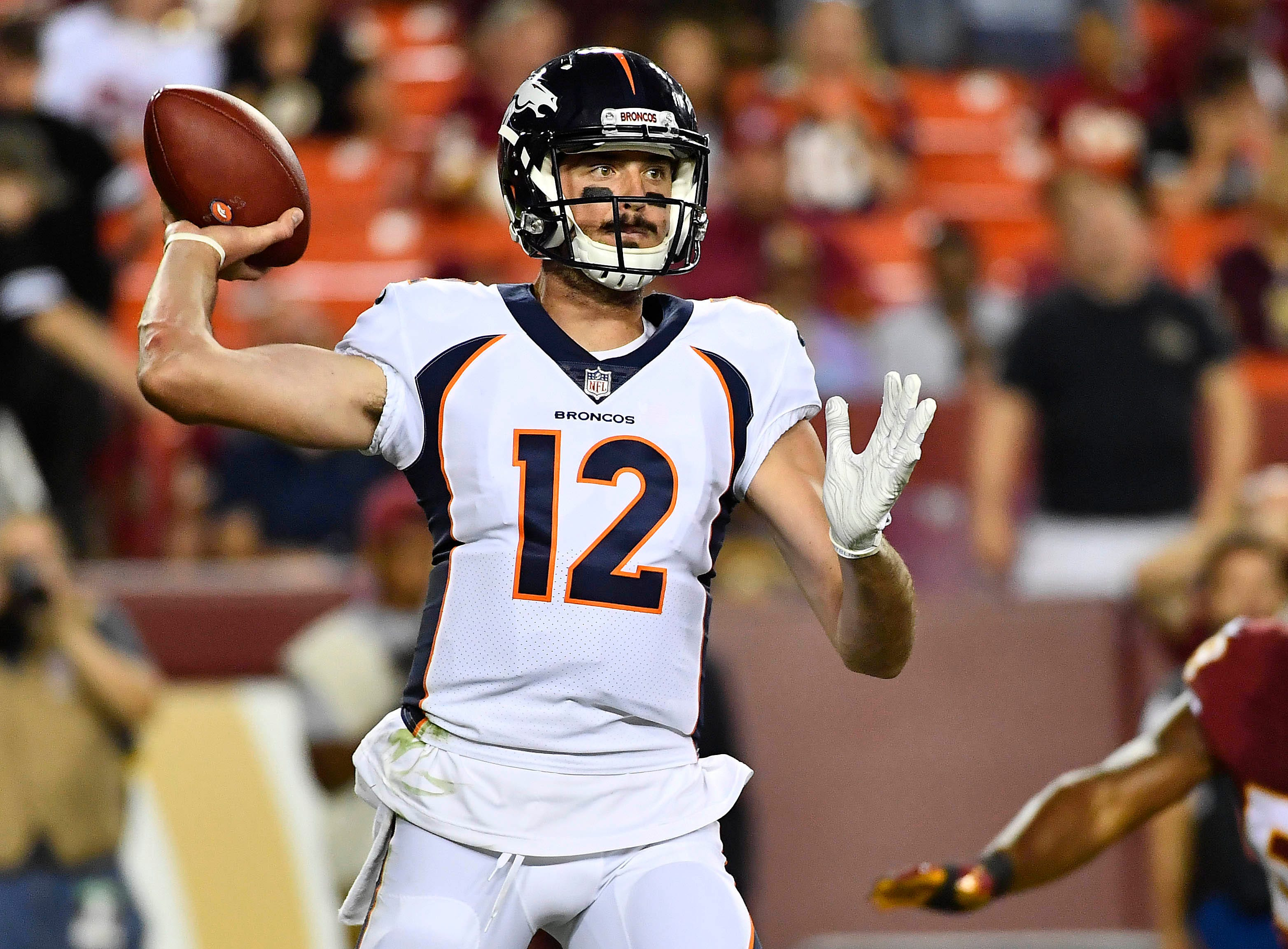 Broncos waive 2016 first-round quarterback Paxton Lynch after ... c4433c047