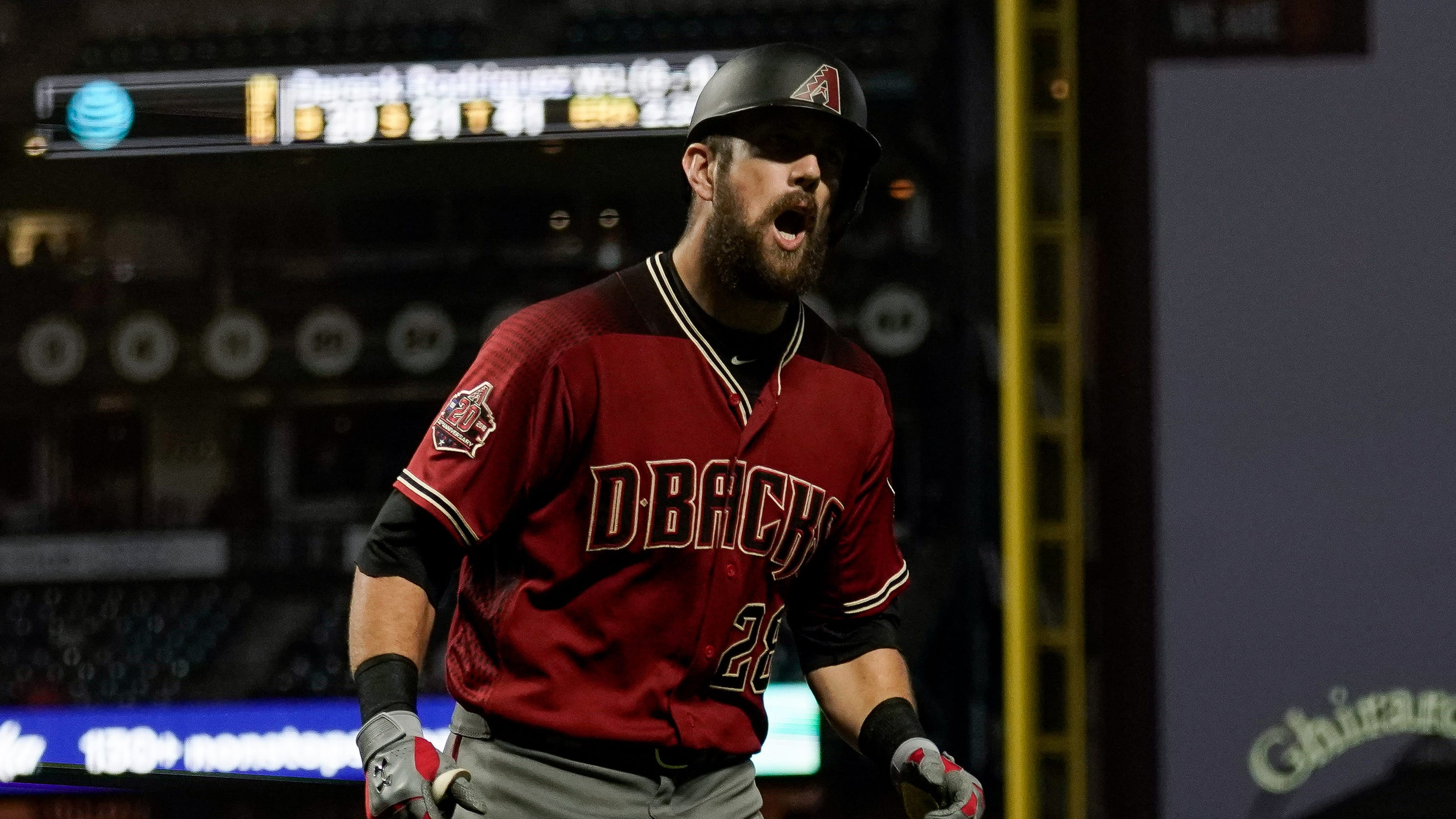 e10920c86 'How is it a rough stretch?' Steven Souza gets irritated after question on  Diamondbacks' offensive struggles