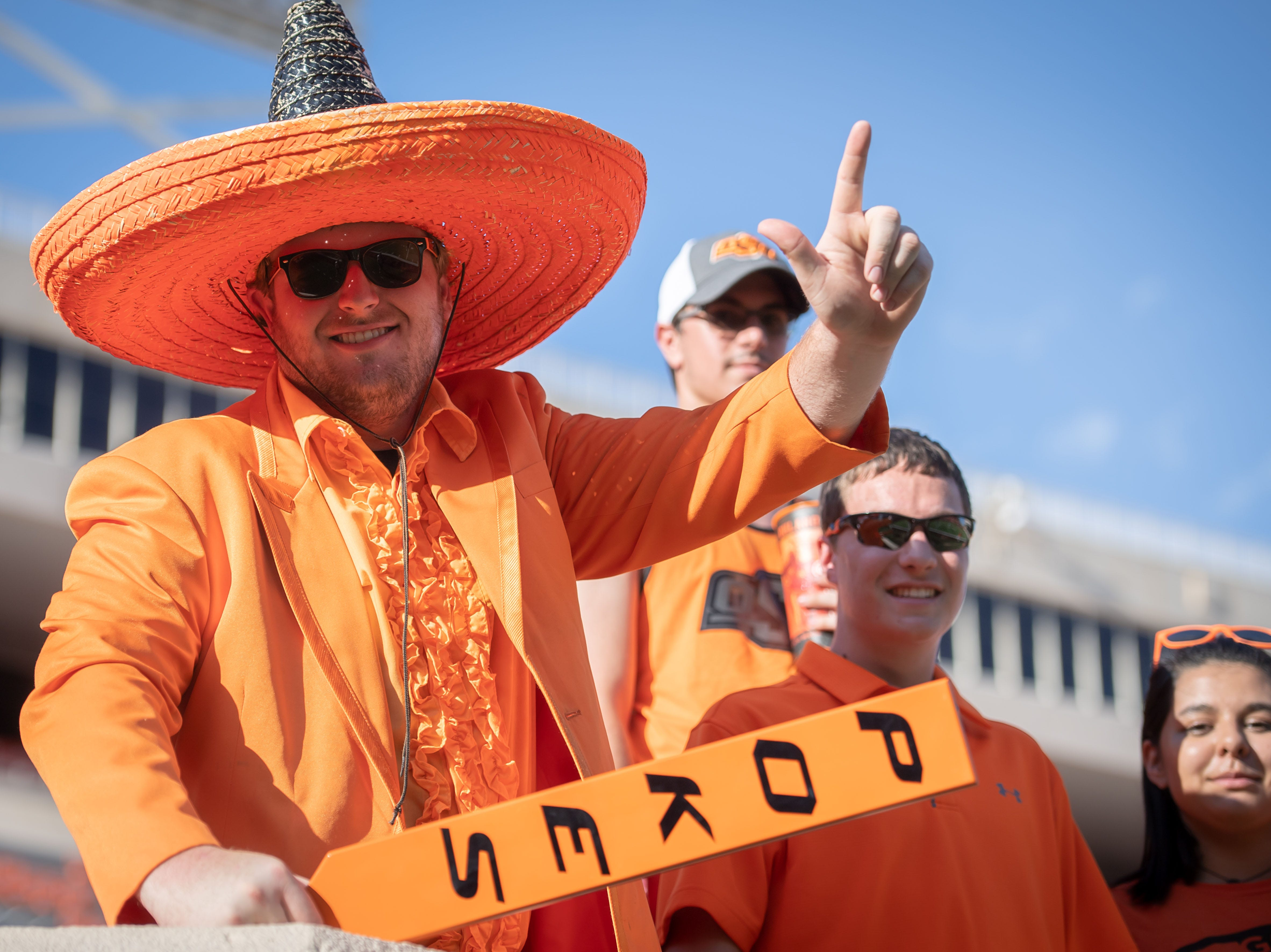 Week 1: Oklahoma State fans before the Cowboys' game against Missouri State.