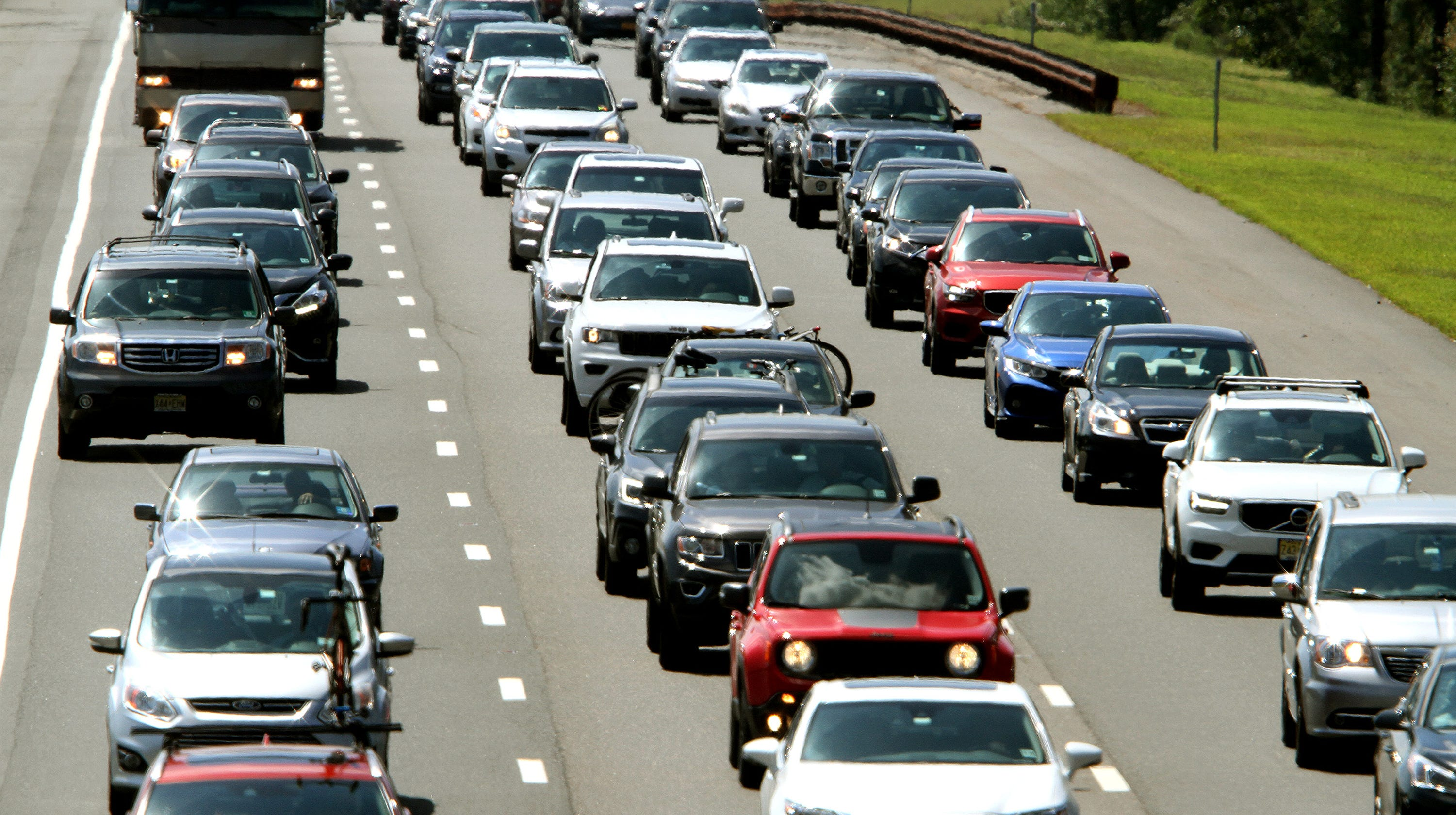 19-mile delay Monday on Garden State Parkway in Ocean County